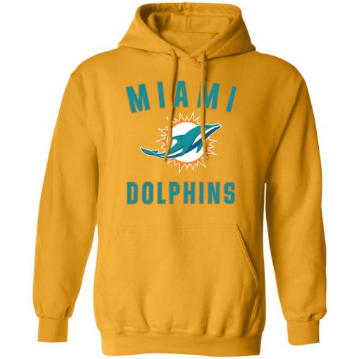 Miami Dolphins NFL Pro Line by Fanatics Branded Aqua Vintage Victory Hoodie