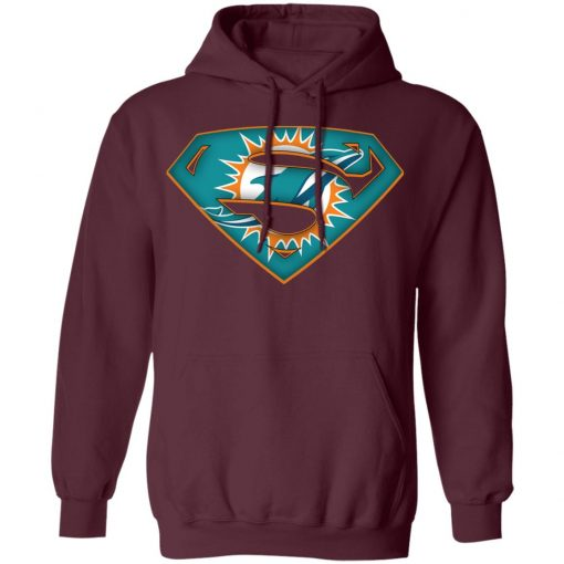 We Are Undefeatable The Miami Dolphins x Superman NFL Hoodie