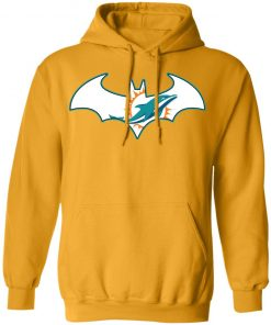 We Are The Miami Dolphins Batman NFL Mashup Hoodie