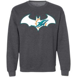 We Are The Miami Dolphins Batman NFL Mashup Sweatshirt