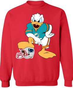 You Cannot Win Against The Donald Miami Dolphins NFL Sweatshirt