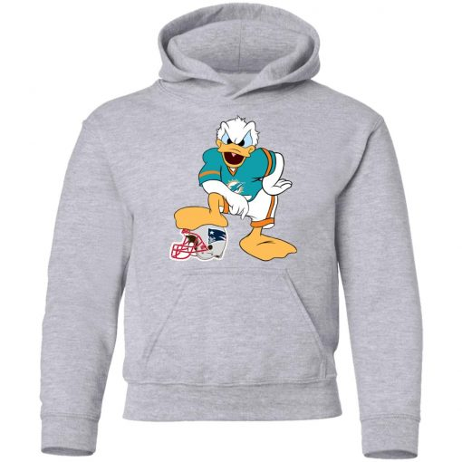 You Cannot Win Against The Donald Miami Dolphins NFL Youth Hoodie