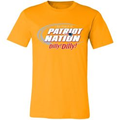 A True Friend Of The New England Patriots Dilly Dilly Unisex Jersey Tee