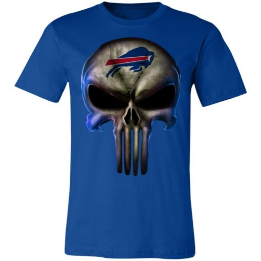 Buffalo Bills The Punisher Mashup Football Unisex Jersey Tee