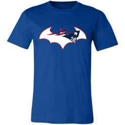 We Are The New England Patriots Batman NFL Mashup Unisex Jersey Tee