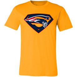 We Are Undefeatable The New England Patriots x Superman NFL Unisex Jersey Tee