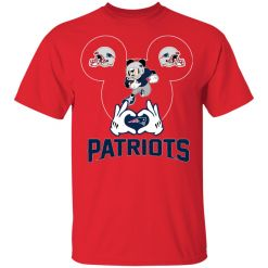 I Love The Patriots Mickey Mouse New England Patriots Youth's T-Shirt
