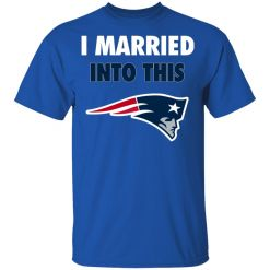 I Married Into This New England Patriots Football NFL Youth's T-Shirt
