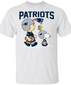 New England Patriots Let's Play Football Together Snoopy NFL Youth's T-Shirt