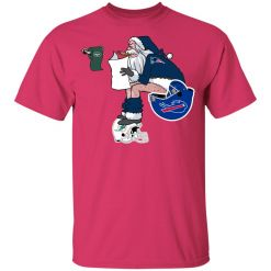 Santa Claus New England Patriots Shit On Other Teams Christmas Youth's T-Shirt