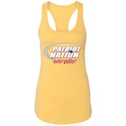 A True Friend Of The New England Patriots Dilly Dilly Racerback Tank