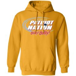 A True Friend Of The New England Patriots Dilly Dilly Hoodie