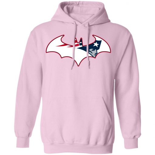 We Are The New England Patriots Batman NFL Mashup Hoodie