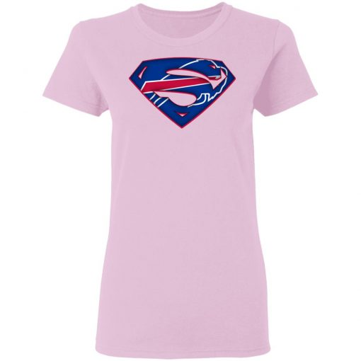 We Are Undefeatable The Buffalo Bills x Superman NFL Women's T-Shirt