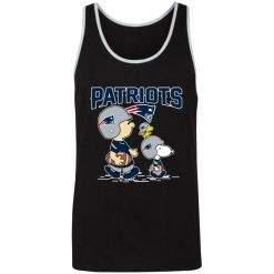 New England Patriots Let's Play Football Together Snoopy NFL Unisex Tank