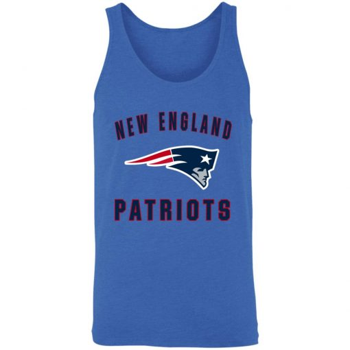 New England Patriots NFL Pro Line Gray Victory Unisex Tank