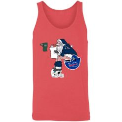 Santa Claus New England Patriots Shit On Other Teams Christmas Unisex Tank