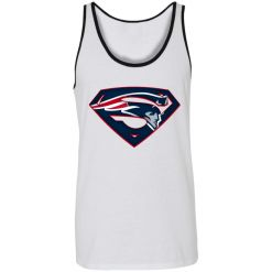We Are Undefeatable The New England Patriots x Superman NFL Unisex Tank