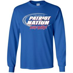 A True Friend Of The New England Patriots Dilly Dilly Youth LS T-Shirt