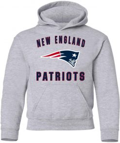 New England Patriots NFL Pro Line Gray Victory Youth Hoodie