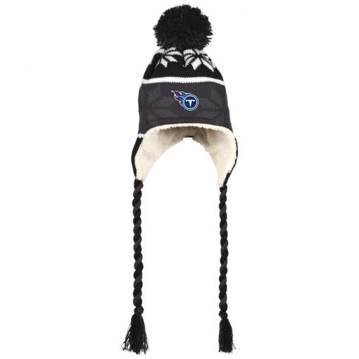 Tennessee Titans Hat with Ear Flaps and Braids