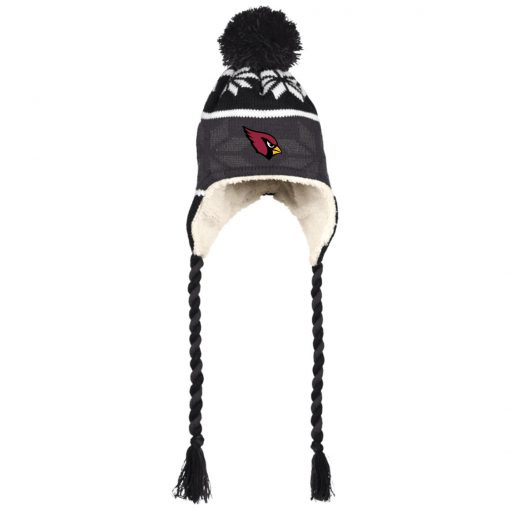 Arizona Cardinals Hat with Ear Flaps and Braids