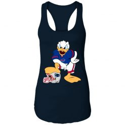 You Cannot Win Against The Donald Buffalo Bills NFL Racerback Tank