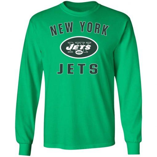 New York Jets NFL Pro Line by Fanatics Branded Vintage Victory LS T-Shirt