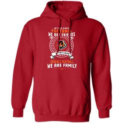 Love Football We Are Friends Love Bengals We Are Family Hoodie