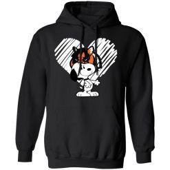 I Love Cincinnati Bengals Snoopy In My Heart NFL Hoodie
