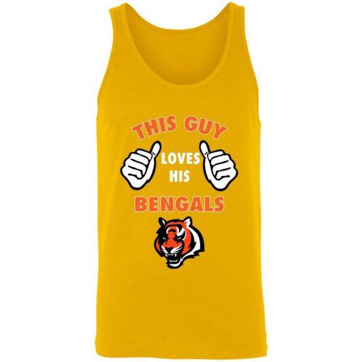 This Guy Loves His Cincinnati Bengals NFL 3480 Unisex Tank