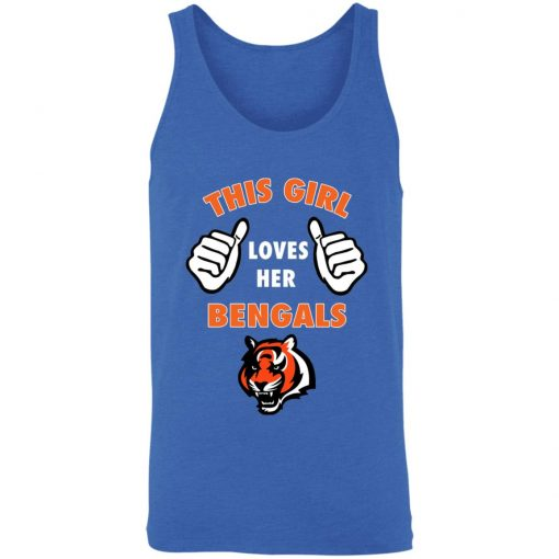 This Girl Loves Her Cincinnati Bengals NFL 3480 Unisex Tank