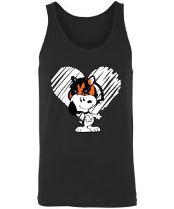 I Love Cincinnati Bengals Snoopy In My Heart NFL 3480 Unisex Tank