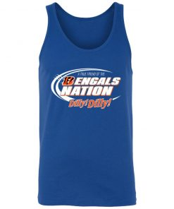A True Friend Of The Bengals Nation Unisex Tank