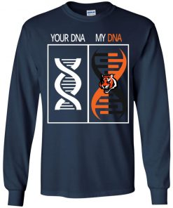 My DNA Is The Cincinnati Bengals Football NFL Youth LS T-Shirt
