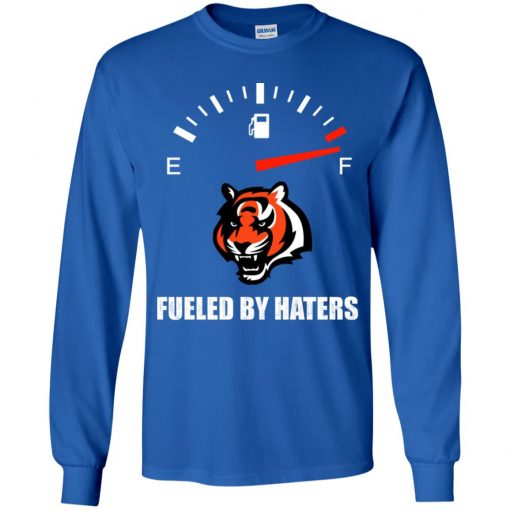 Fueled By Haters Maximum Fuel Cincinnati Bengals Youth LS T-Shirt
