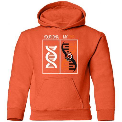 My DNA Is The Cincinnati Bengals Football NFL Youth Hoodie