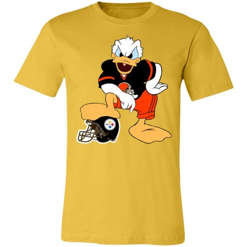 You Cannot Win Against The Donald Cleveland Browns NFL Unisex Jersey Tee