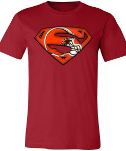 We Are Undefeatable The Cleveland Browns x Superman NFL Unisex Jersey Tee