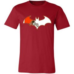 Private: We Are The Cleveland Browns Batman NFL Mashup Unisex Jersey Tee