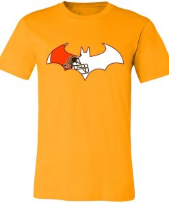 We Are The Cleveland Browns Batman NFL Mashup Unisex Jersey Tee