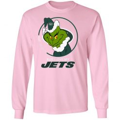 I Hate People But I Love My New York Jets Grinch NFL LS T-Shirt