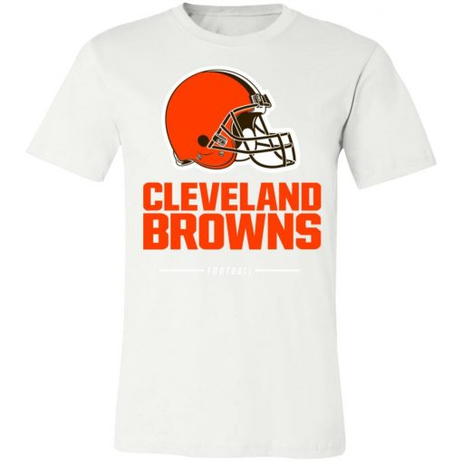 Private: Cleverland Browns NFL Pro Line Black Team Lockup Unisex Jersey Tee