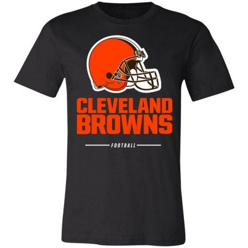 Cleverland Browns NFL Pro Line Black Team Lockup Unisex Jersey Tee