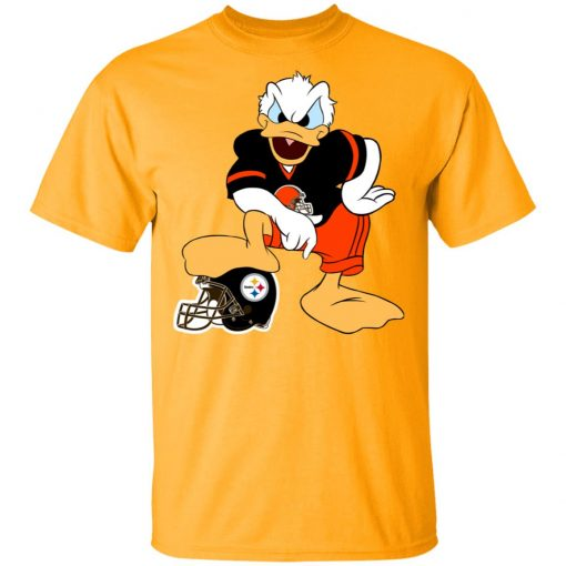 Private: You Cannot Win Against The Donald Cleveland Browns NFL Men's T-Shirt