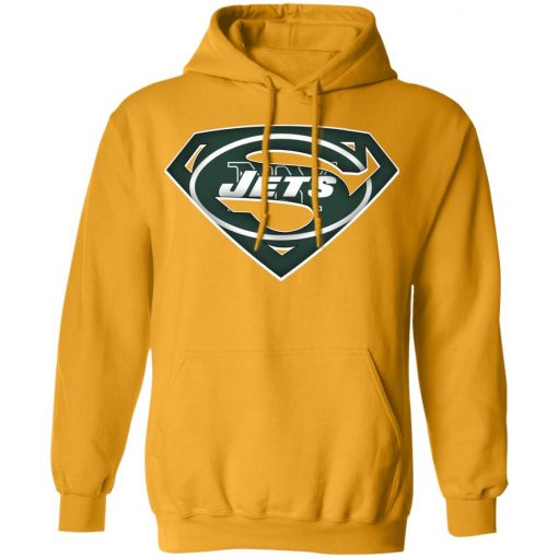 We Are Undefeatable The New York Jets x Superman NFL Hoodie