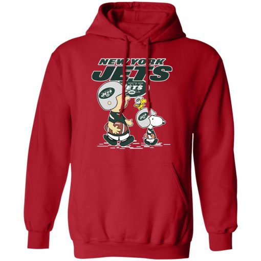 New York Jets Let's Play Football Together Snoopy NFL Hoodie
