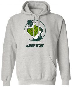 I Hate People But I Love My New York Jets Grinch NFL Hoodie