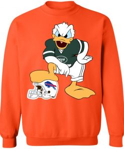 You Cannot Win Against The Donald New York Jets NFL Sweatshirt