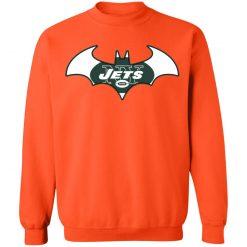 We Are The New York Jets Batman NFL Mashup Sweatshirt